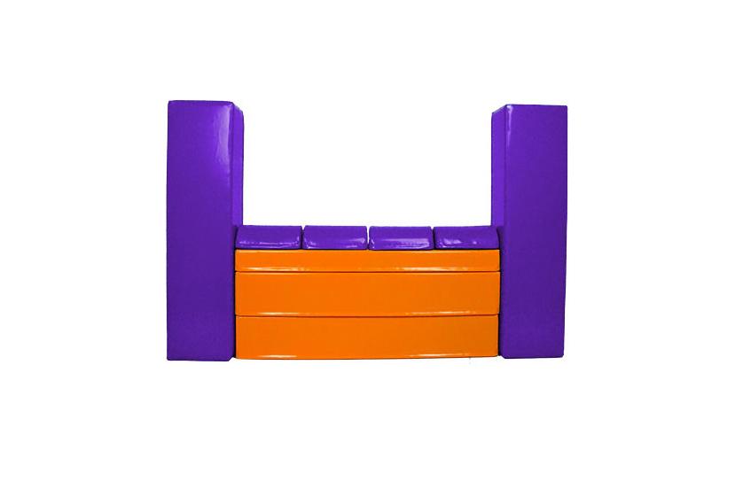 fioletowo-pomarańczowy