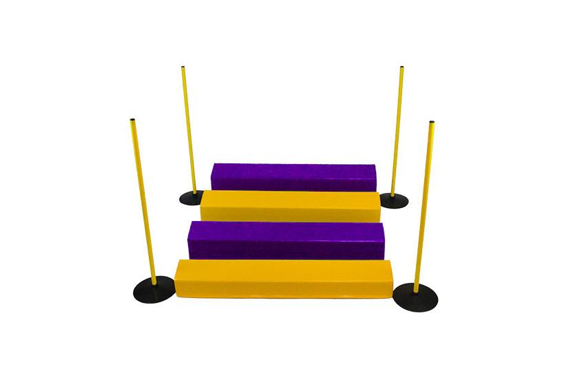 fioletowo-żółty