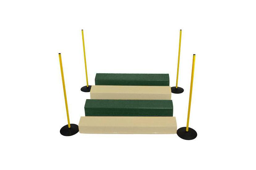 zielono-kremowy